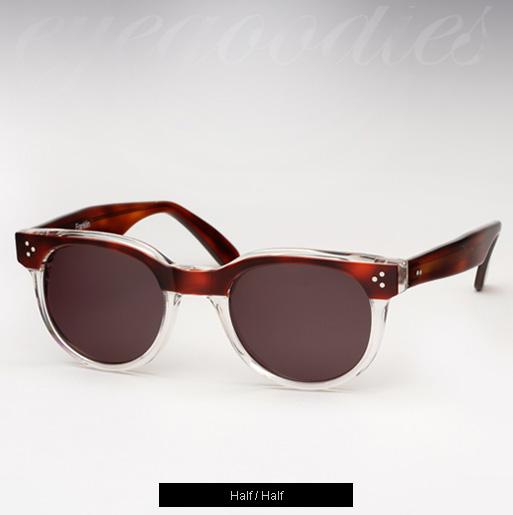 Illesteva Franklin Sunglasses - Half/Half