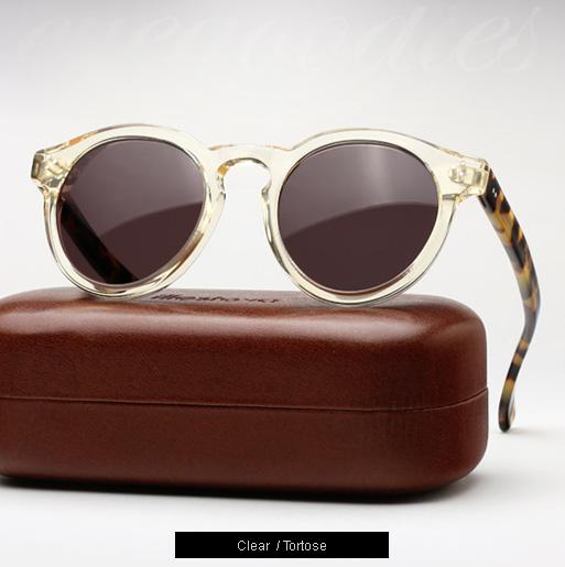 Illesteva Leonard 2 sunglasses - Clear / Tortoise