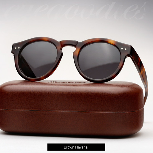 Illesteva Leonard sunglasses - brown havana