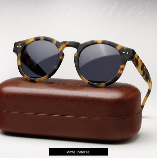 Illesteva Leonard sunglasses - Matte Tortoise