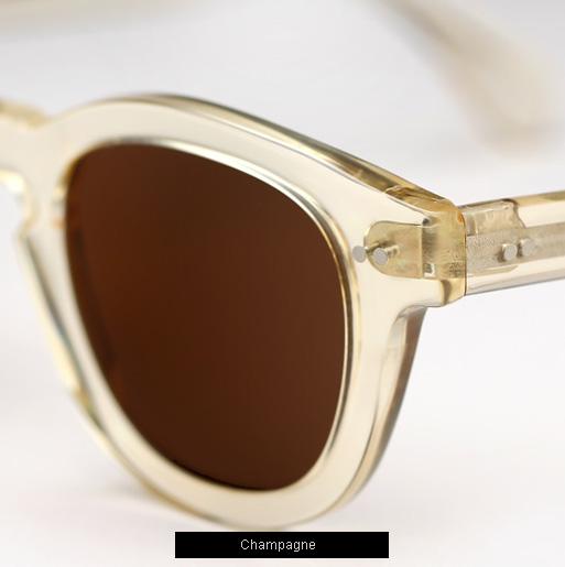 Illesteva Murdoch Sunglasses - Champagne