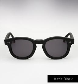 Illesteva Murdoch Sunglasses - Matte Black