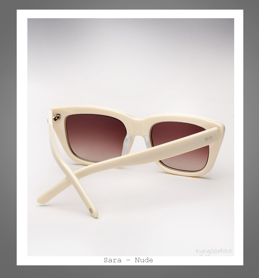Ksubi X Richard Nicoll | Sara sunglasses - Nude