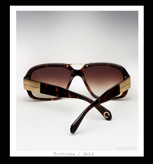 Mosley Tribes X Crooks & Castles sunglasses Castellano - Tortoise