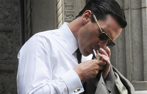 Don Draper wearing the iconic Aviator frame on hit show Mad Men