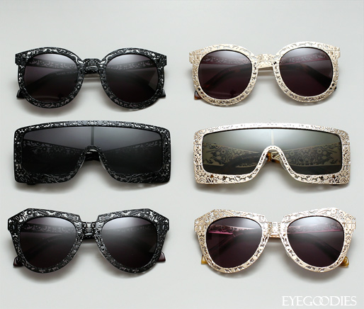 Karen Walker Fantastique sunglasses limited edition collection