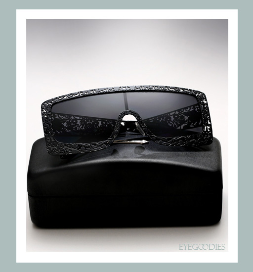 Karen Walker The Butler Critter Sunglasses - Black