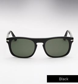 Persol 3018 S Roadster Sunglasses - Black