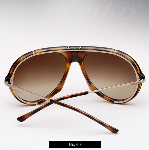YSL 2340 S Sunglasses - Havana