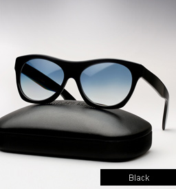 Cutler and Gross 0164 sunglasses - Black