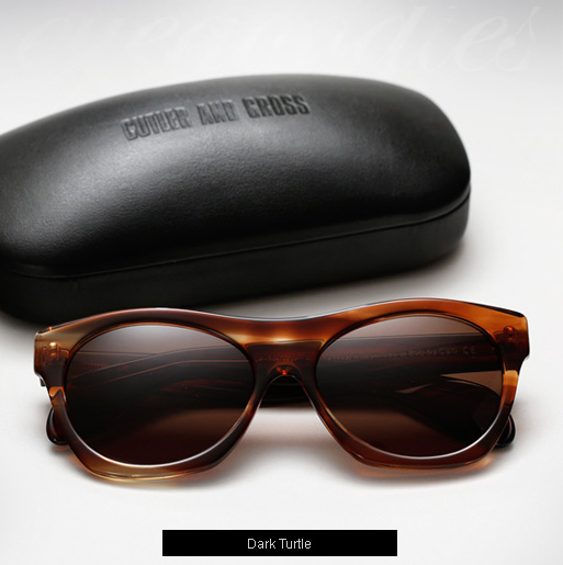 Cutler and Gross 0164 sunglasses - Dark Turtle