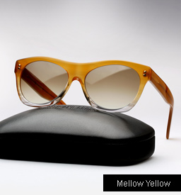 Cutler and Gross 0164 sunglasses - Mellow Yellow