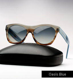 Cutler and Gross 0164 sunglasses - Oasis Blue