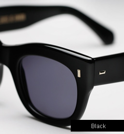 Cutler and Gross 0261 sunglasses - Black