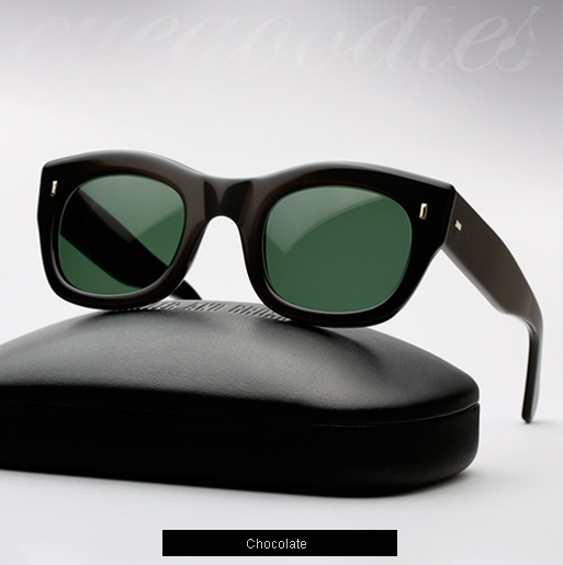 Cutler and Gross 0261 sunglasses - Chocolate
