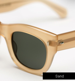 Cutler and Gross 0261 sunglasses - Sand