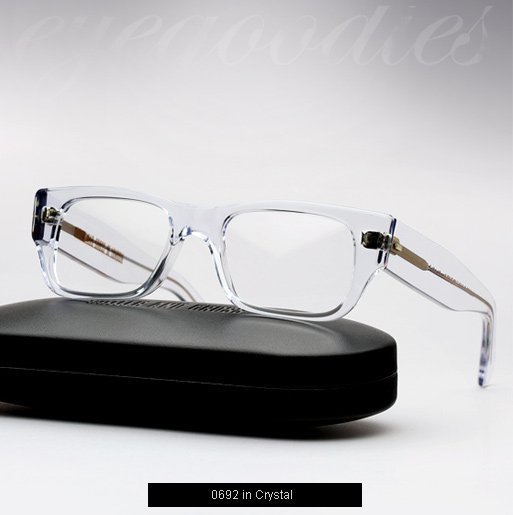 Cutler and Gross 0692 eyeglasses - Crystal