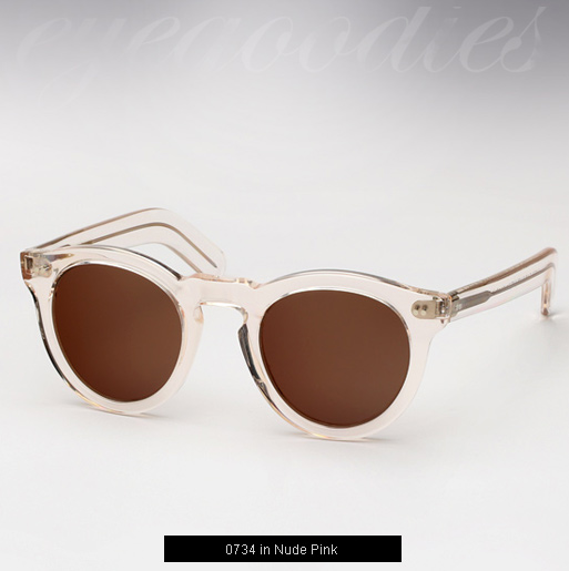 Cutler and Gross 0734 Sunglasses - Nude Pink