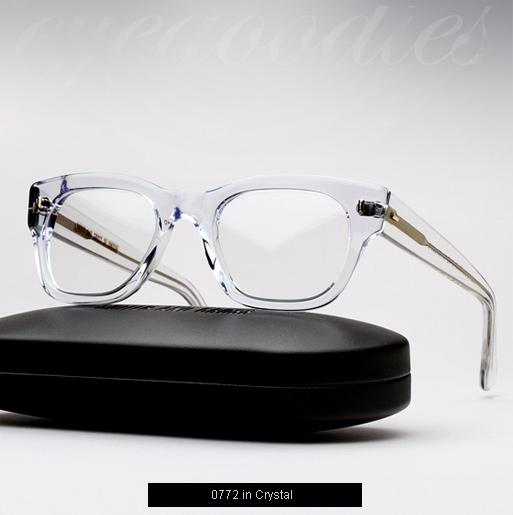 Cutler and Gross 0772 eyeglasses - Crystal