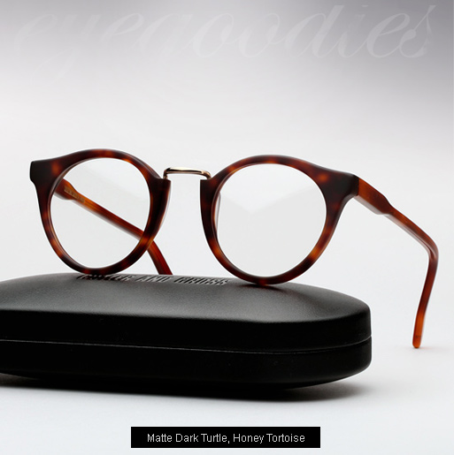 Cutler and Gross 1060 - Matte Dark Turtle, Honey Tortoise temples