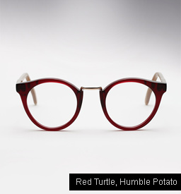 Cutler and Gross 1060 - Red Turtle, Humble Potato temples