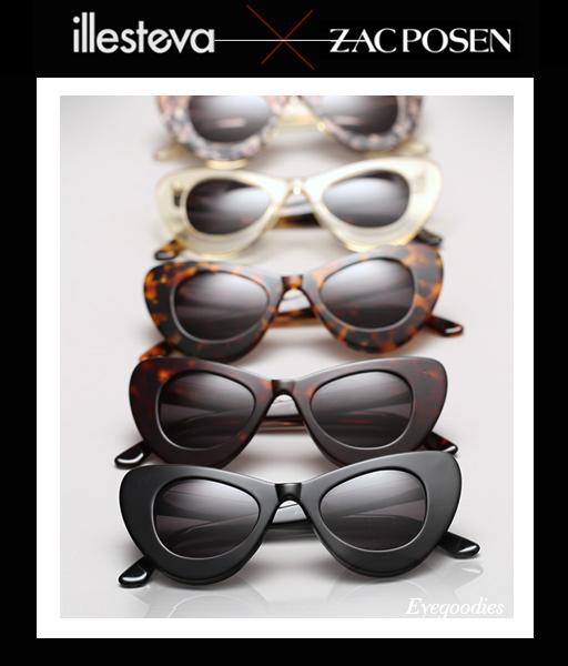 Illesteva X Zac Posen 3 Sunglasses