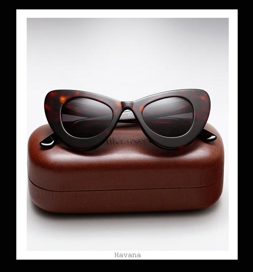 Illesteva X Zac Posen Sunglasses - Havana