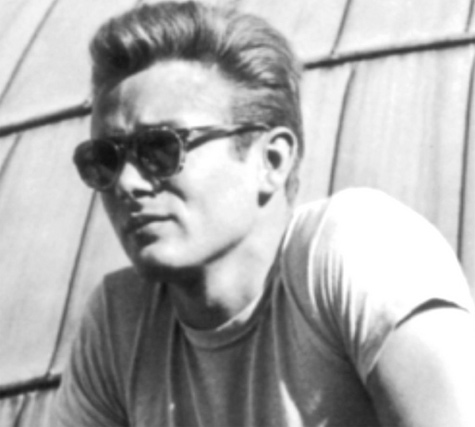 James Dean Clip-On sunglasses