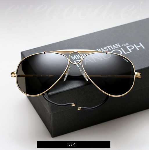 Randolph Engineering X Michael Bastian, Compass Sunglasses