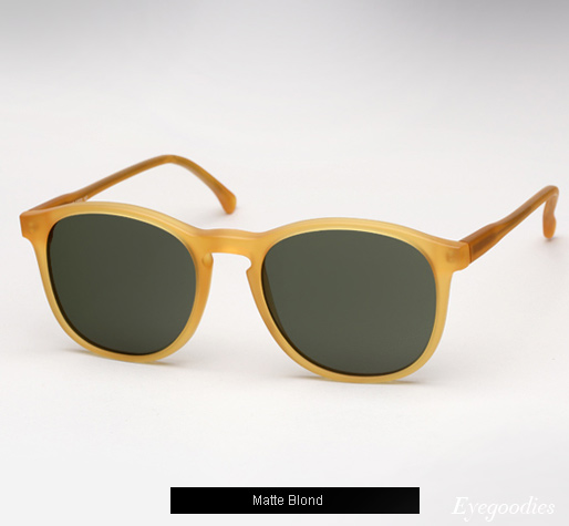Illesteva Hudson Sunglasses - Matte Blond