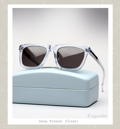 Karen Walker Deep Freeze sunglasses - Clear