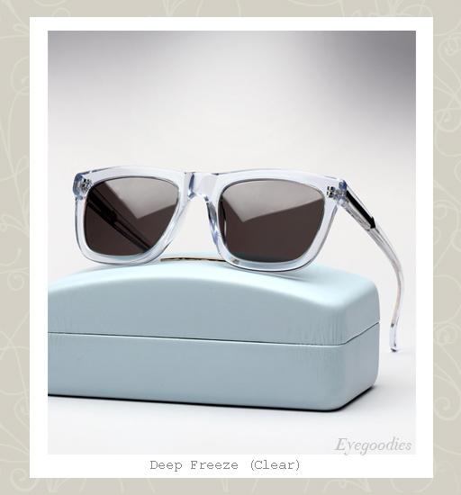 Karen Walker Deep Freeze sunglasses - Clear