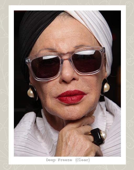 56d1b6dac464 ... Karen Walker Deep Freeze sunglasses - Clear ...
