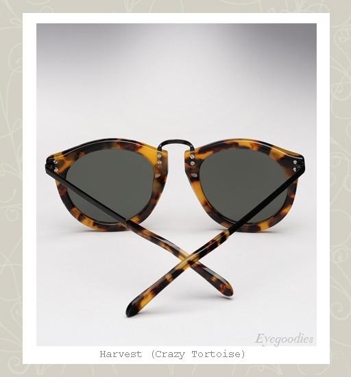 Karen Walker Harvest sunglasses - crazy tortoise