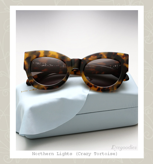 Karen Walker Northern Lights sunglasses - Tortoise