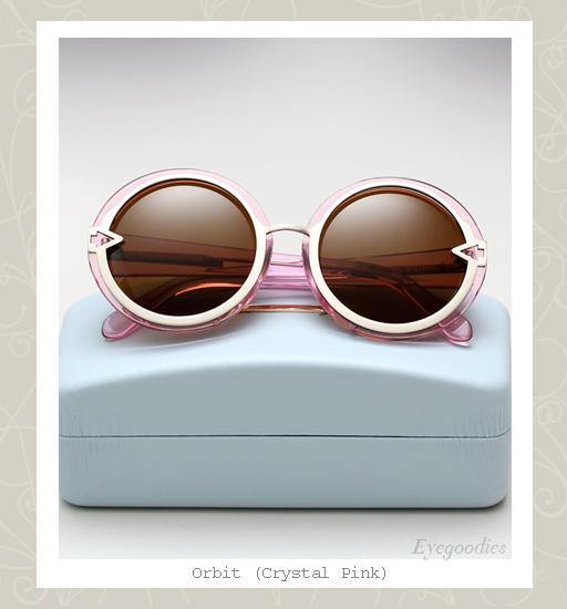 Karen Walker Orbit sunglasses-Crystal Pink