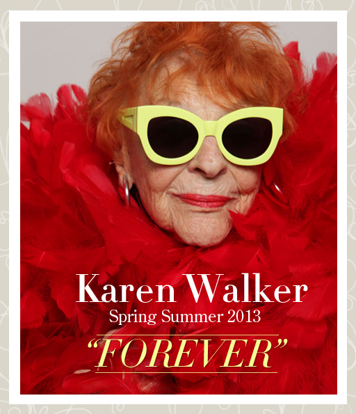 Karen Walker sunglasses 2013