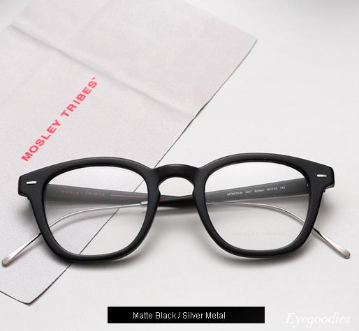 Mosley Tribes Bryson eyeglasses - Matte Black