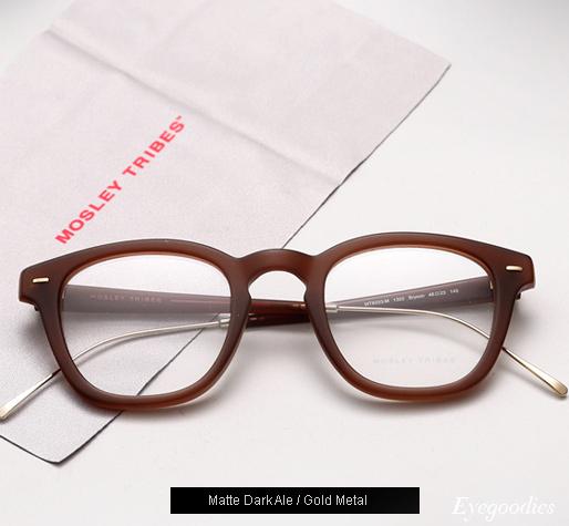Mosley Tribes Bryson eyeglasses - Matte Dark Ale