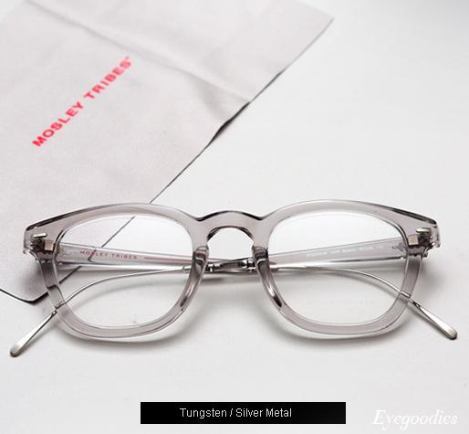 Mosley Tribes Bryson eyeglasses - Tungsten