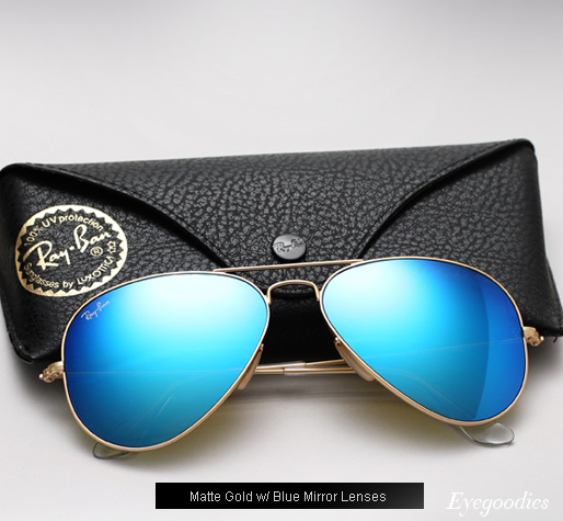 ray ban mirrored aviator sunglasses blue green  ray ban aviator rb 3025 colored mirror sunglasses blue