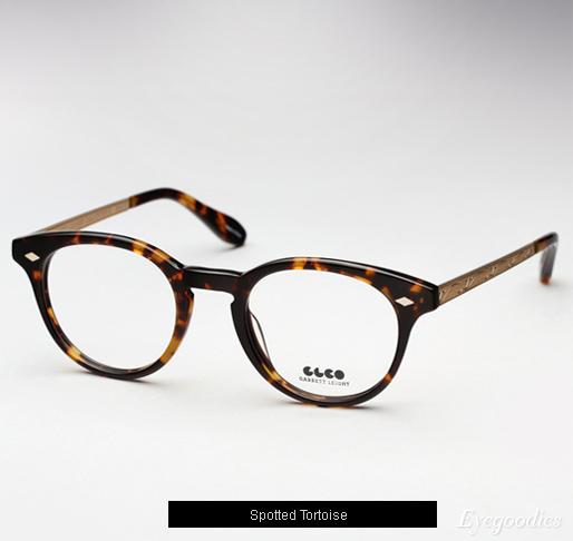 Garrett Leight Ashland eyeglasses - Spotted Tortoise