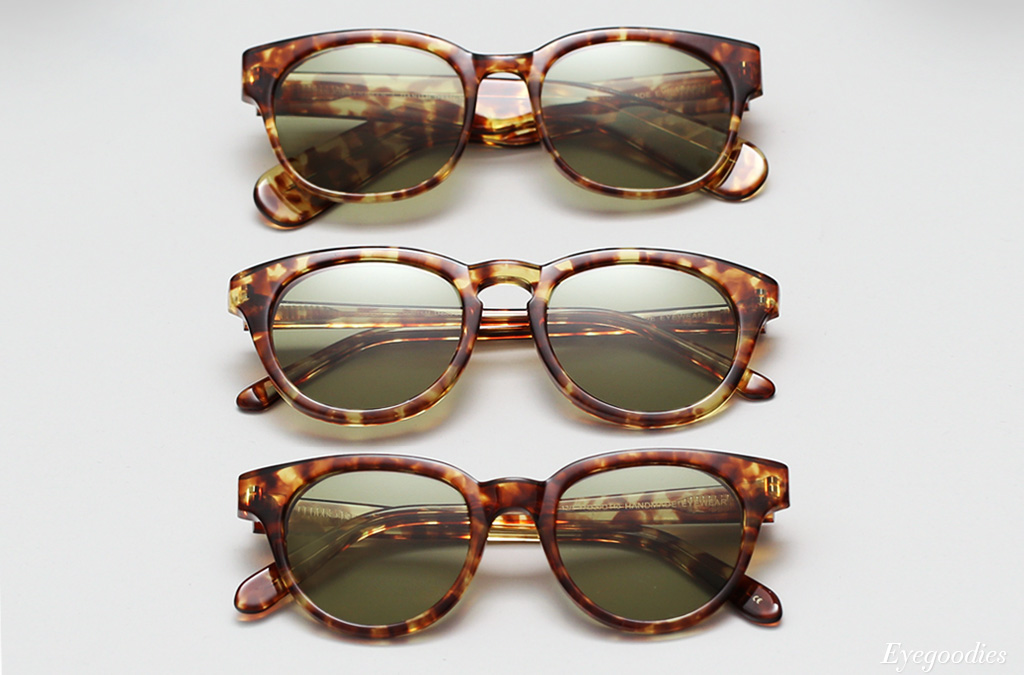 "Han sunglasses, the ""Tiger Tortoise"" colorway"