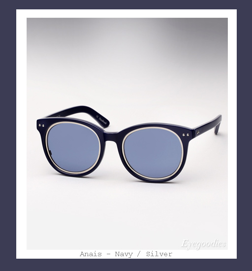 Ksubi X Richard Nicoll Anais sunglasses - Navy
