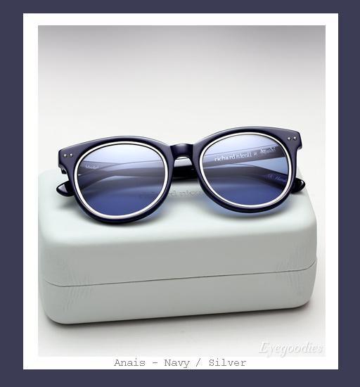 Ksubi X Richard Nicoll Anais sunglasses - Navy