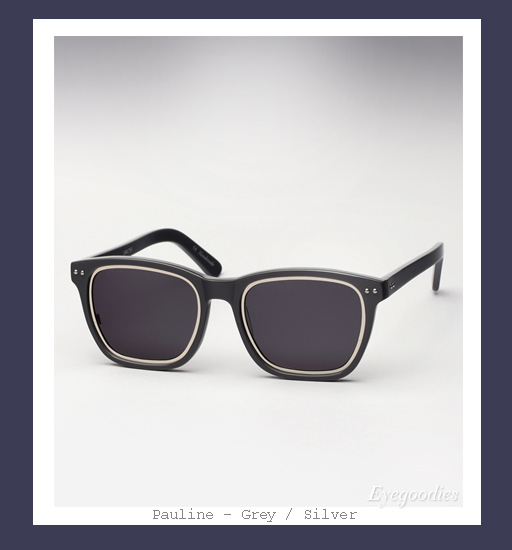 Richard Nicoll x Ksubi Pauline sunglasses - Grey