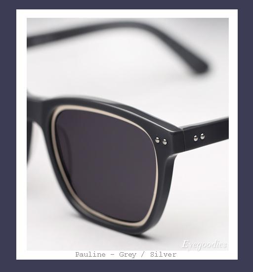 Richard Nicoll x Ksubi Pauline sunglasses - Grey