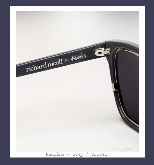 Ksubi X Richard Nicoll Pualine sunglasses - Grey