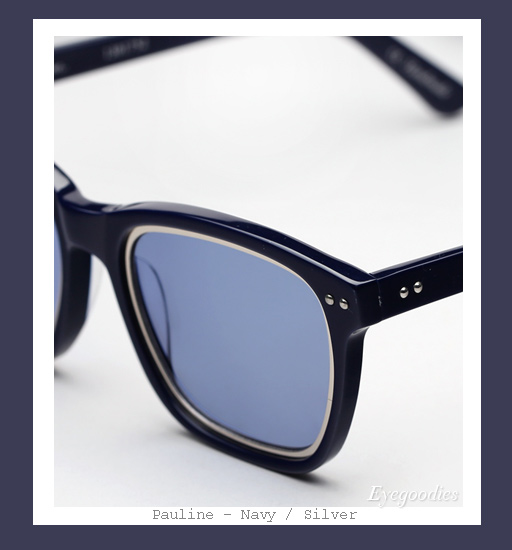 Richard Nicoll x Ksubi Pauline sunglasses - Navy