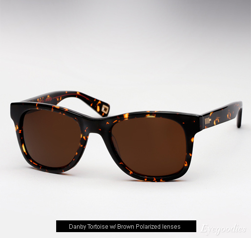 Mosley Tribes Branston sunglasses - Danby Tortoise